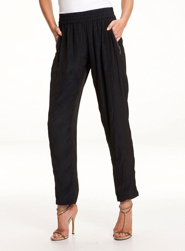 Mela Purdie - Soft Zip Pant - Mousseline 1182 F64   #melapurdie  #redworks