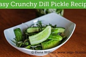Easy Dill Pickle Recipe–No Sugar and Ready in only a few Hours