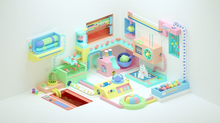 Little Factory on Behance