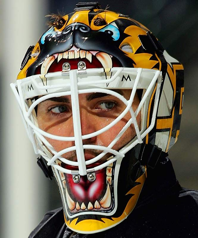 Goalie Masks: Manny Fernandez, Boston Bruins