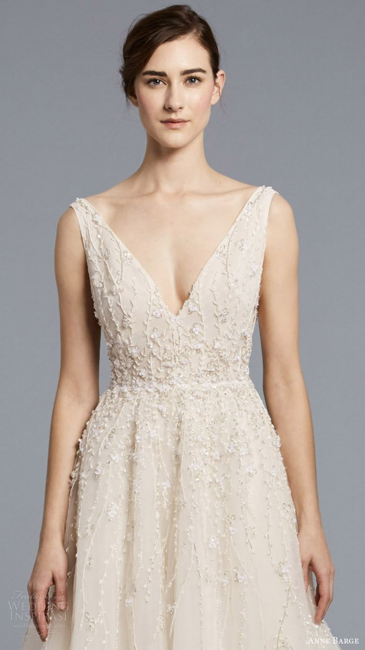 The 25 best 1960s wedding dresses ideas on pinterest 1960s anne barge spring 2018 wedding dresses new york bridal fashion week runway show ombrellifo Image collections