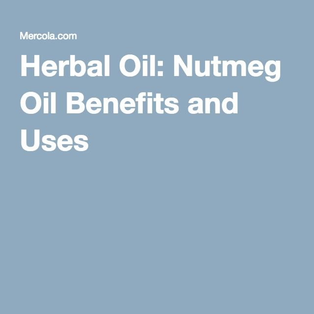 Herbal Oil: Nutmeg Oil Benefits and Uses