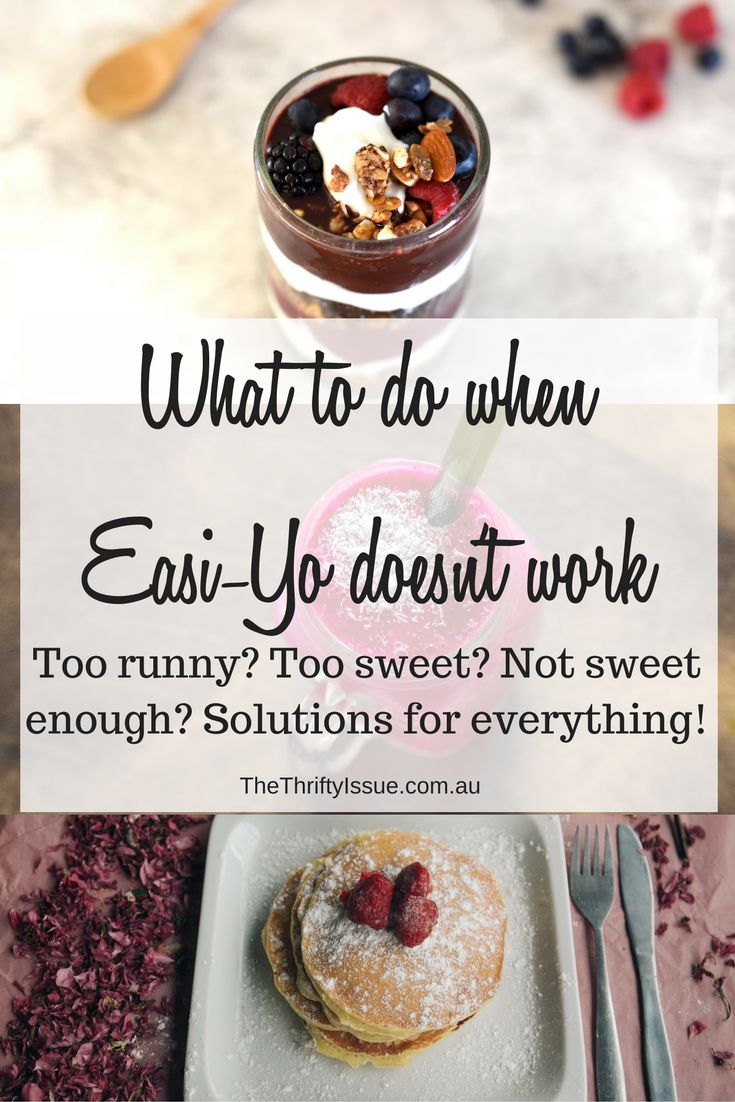 What to do when Easi-Yo doesn't work