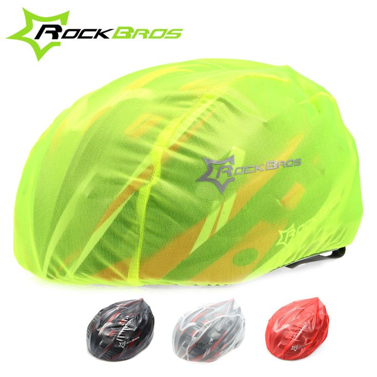 ROCKBROS Bike Helmet Cover Dust-proof RainProof Helmet Cover MTB Road Bike Waterproof Windproof Cycling Bicycle Helmet Covers