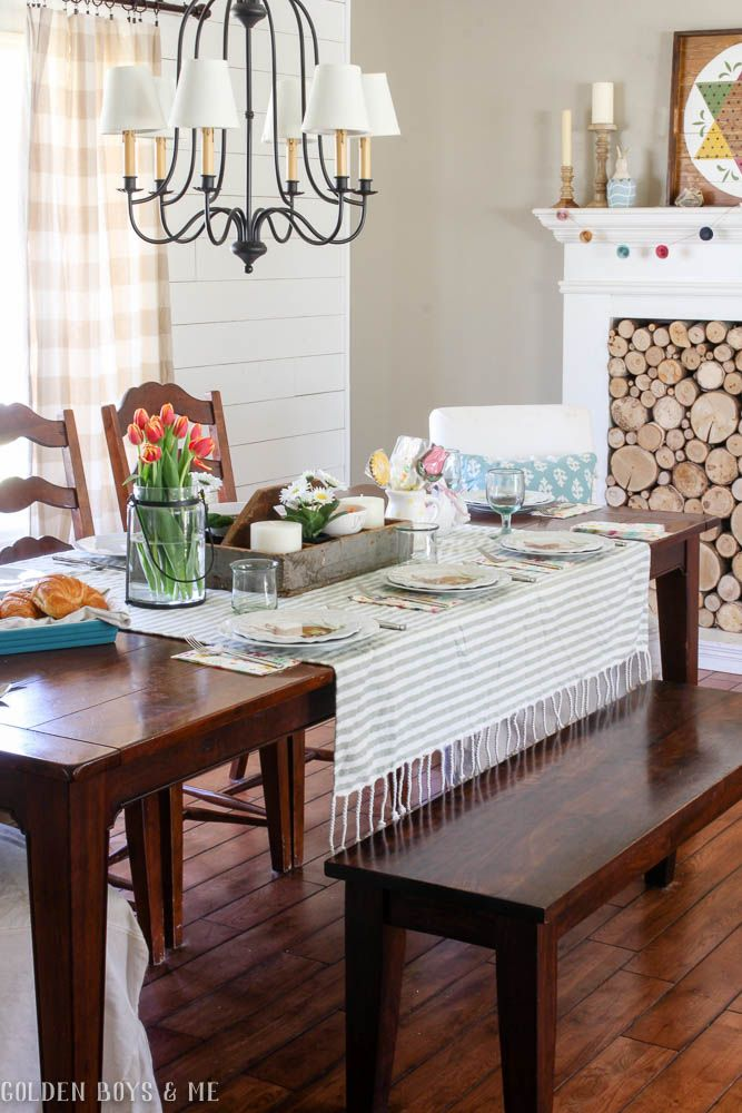 Our Spring Dining Room: 17 Best Ideas About Casual Table Settings On Pinterest