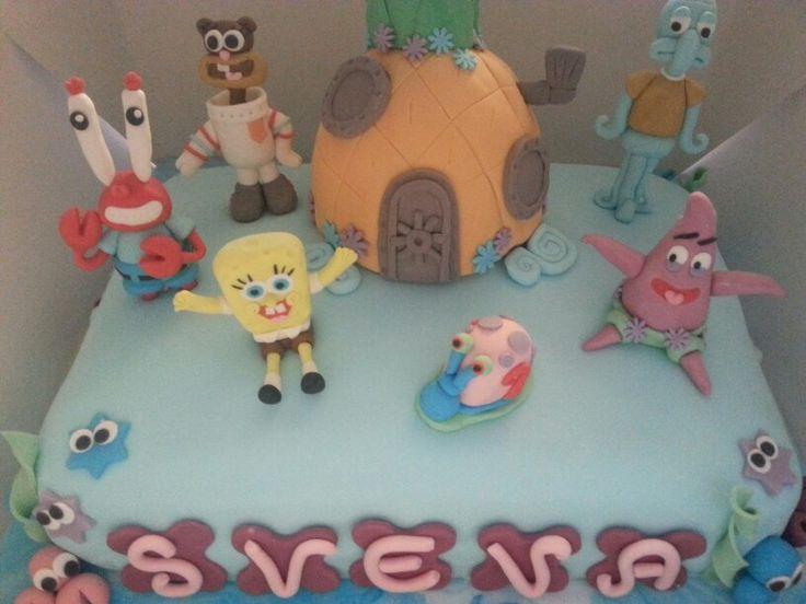 Spongy cake!
