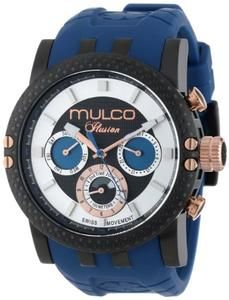 MULCO Unisex MW3-11169-045 Lincoln Illusion Chronograph Analog Swiss Movement Watch