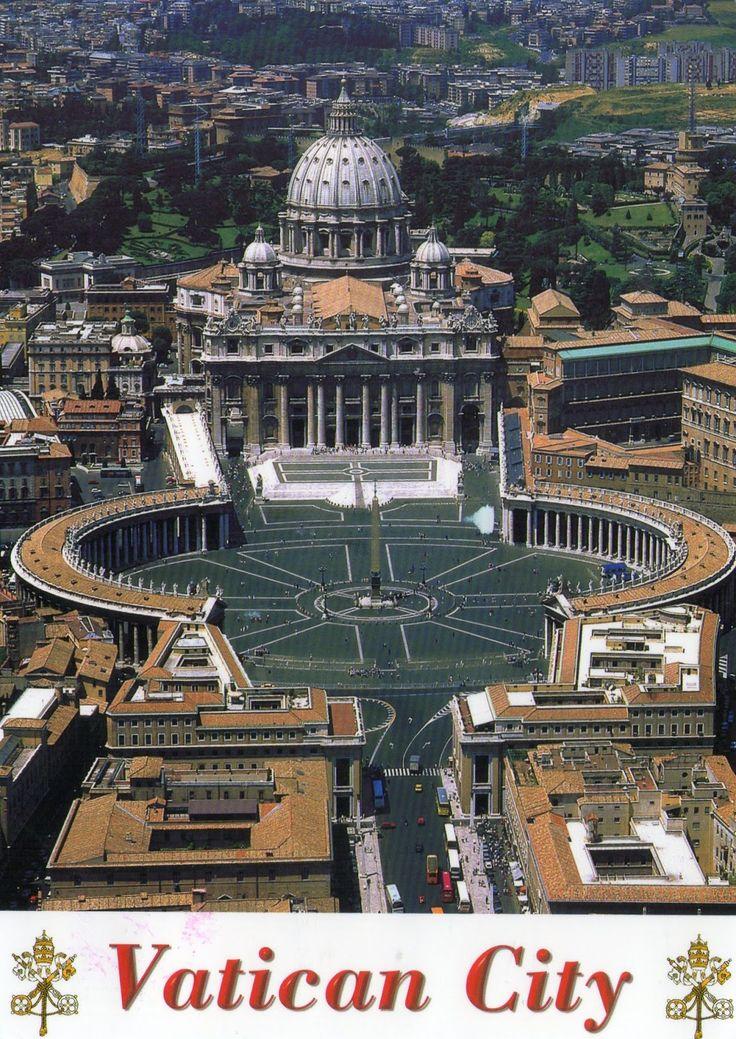 My postcard collection: Unesco Vatican