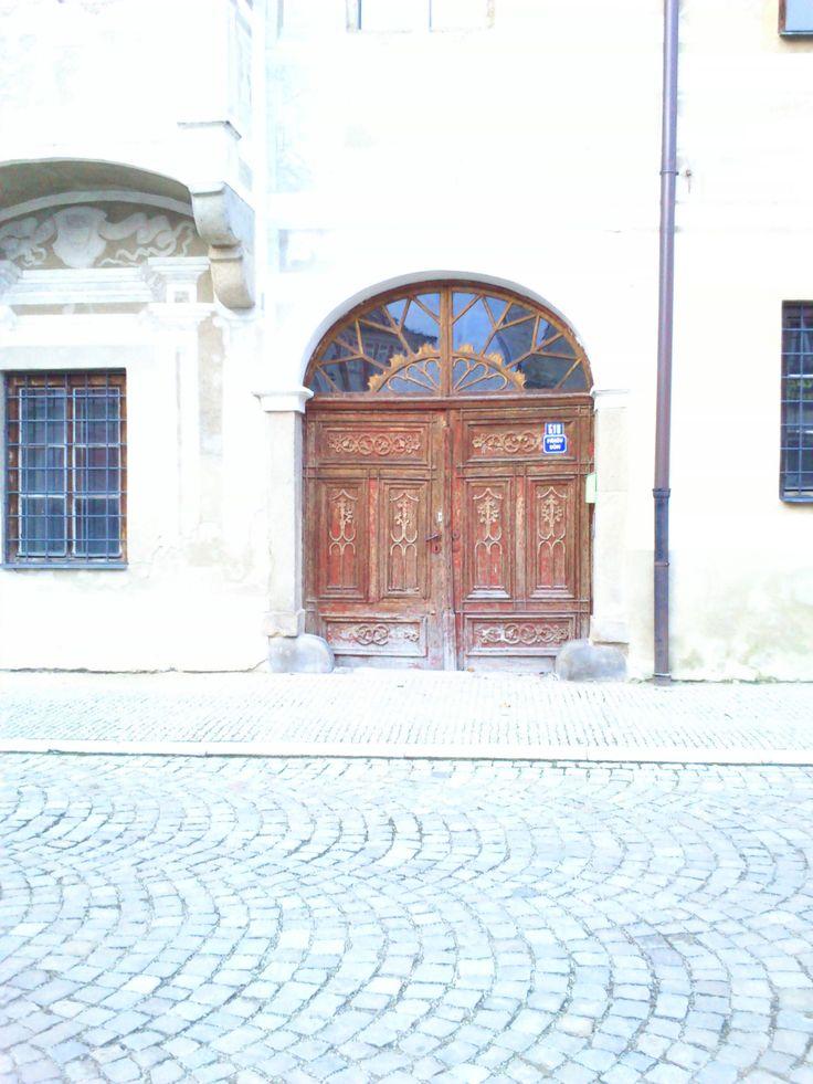 Portal in Slavonice