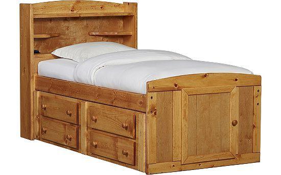 Bedrooms Timber Trail Twin Durango Bed Bedrooms