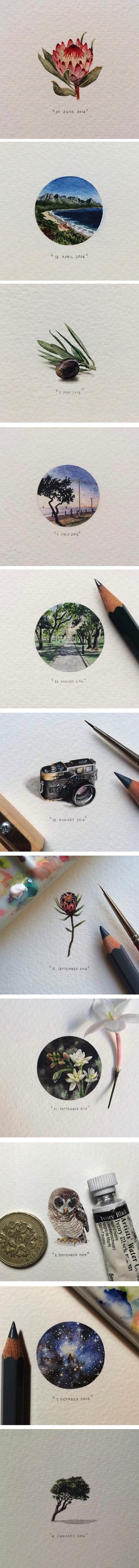 365 Postcards for Ants, Lorraine Loots  such a pretty project