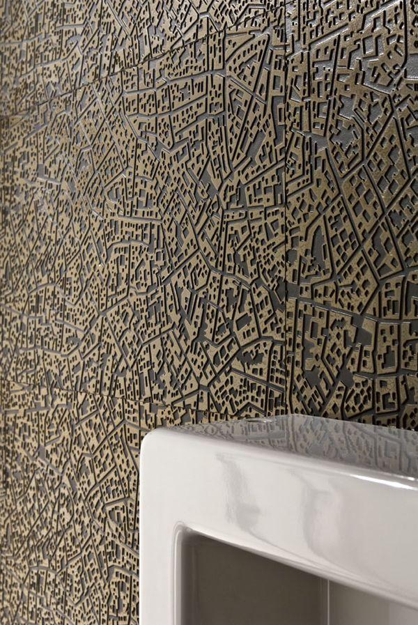 LEA CERAMICHE   Collezione City (Cordusio Bronze 3D)
