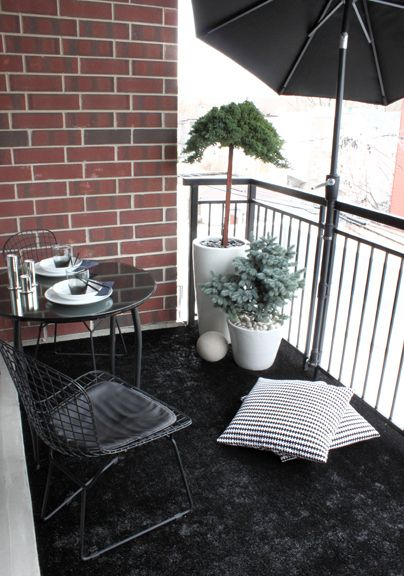 Astroturf Your Balcony or Porch - well, my porch does need a new covering, although Astroturf would not be my first choice....