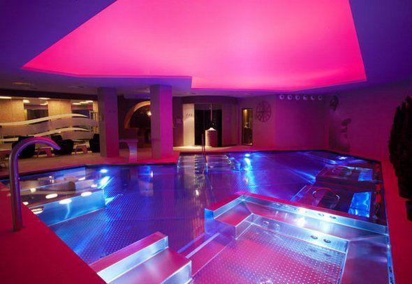 Unique swimming pools designs contemporary indoor swimming pool design inspiration of hotel - Unique indoor swimming pools ...