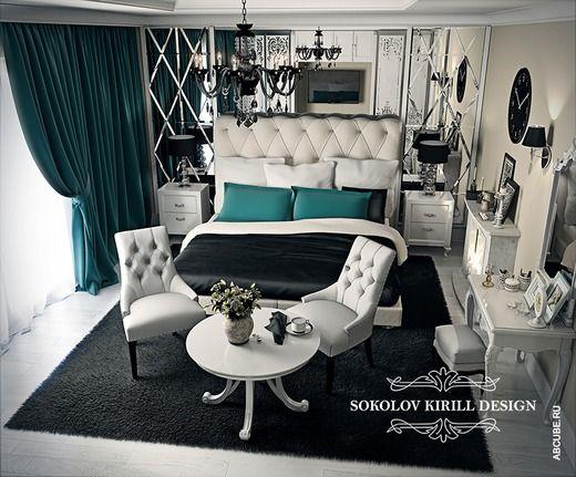 Роскошный дизайн спальни. Спальня