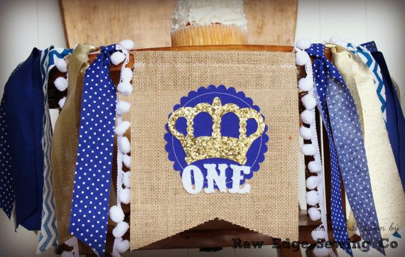 Hey, I found this really awesome Etsy listing at https://www.etsy.com/listing/265735293/little-royal-prince-birthday-high-chair
