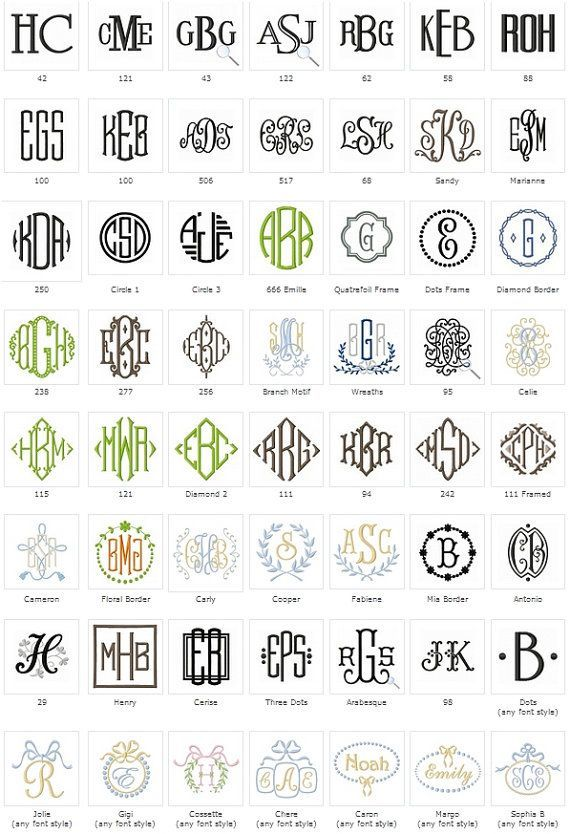 Image result for baby boy monogram style