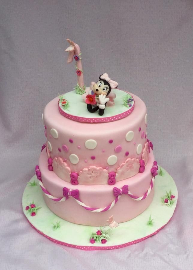 Farrah's first birthday by Goreti