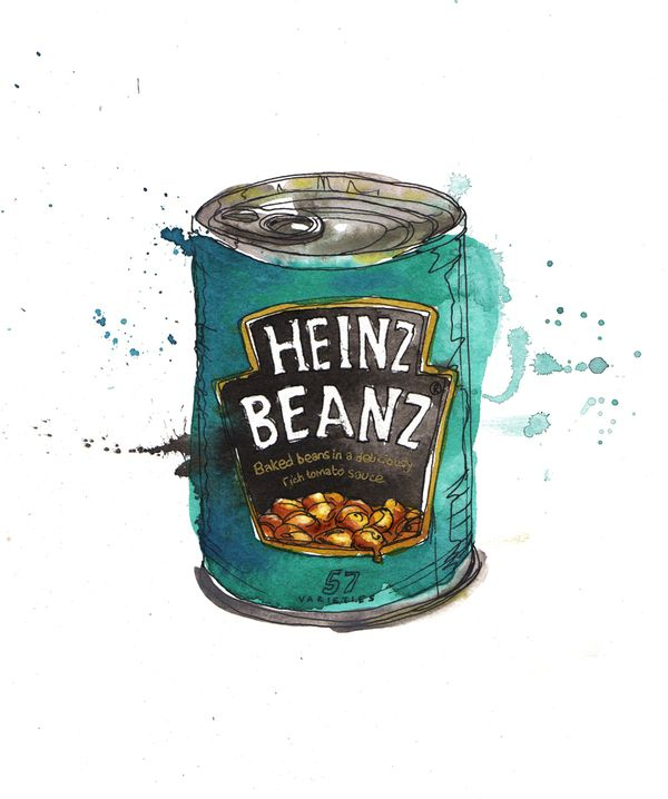 Food illustrations by Georgina Luck