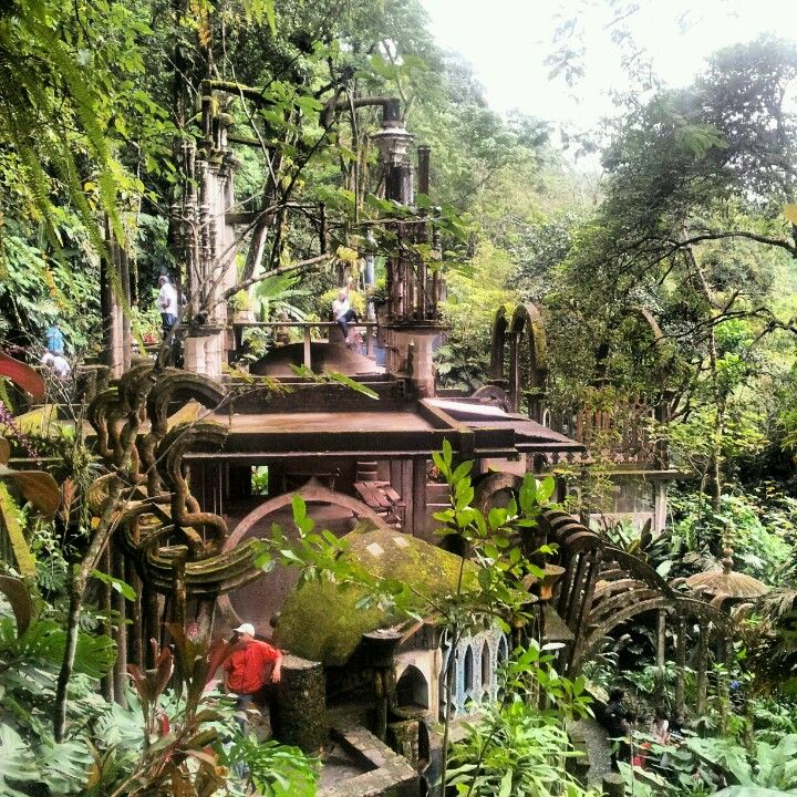 25 beste idee n over xilitla hoteles op pinterest for Jardin surrealista xilitla
