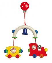 Prívesok Vláčik - Korálky na kočík - Hračky pre bábätká - Hračky a Detský nábytok- Detský Sen - Maxus