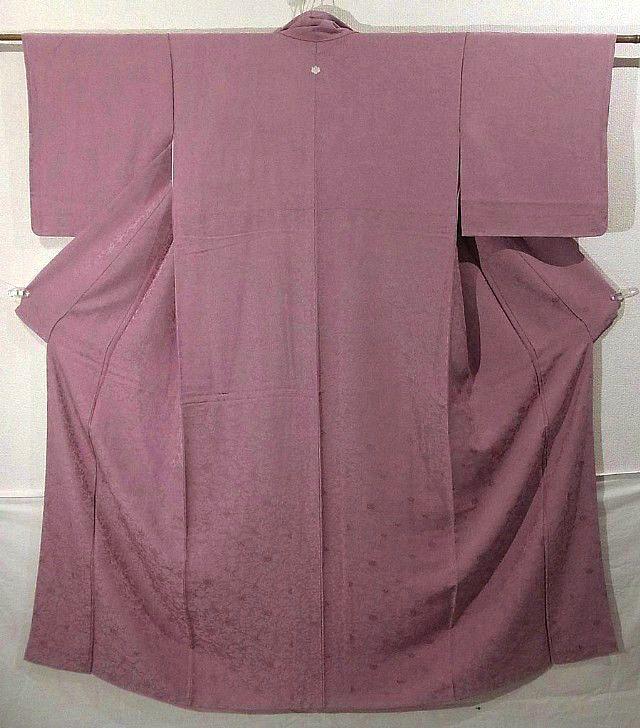Elegant Karabana Pattern Rinzu Iromuji Kimono