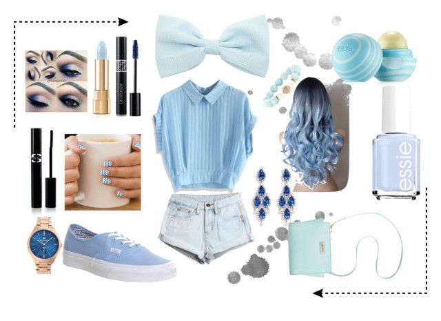 """Like totaly blue"" by admel on Polyvore"
