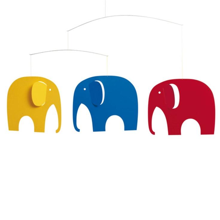 Abbildung Flensted Mobiles - Elefanten Treffen Mobile