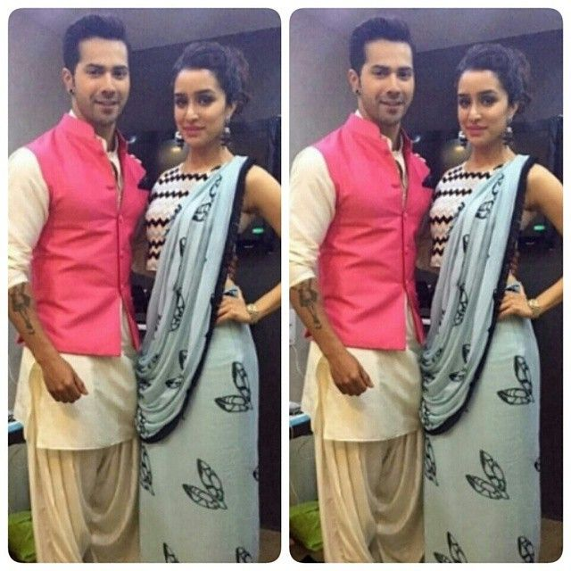 Varun Dhawan and Shraddha Kapoor  at Indian Idol for promotions of their upcoming movie ABCD2.