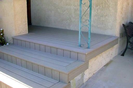 Composite Deck: Composite Deck Over Concrete Patio