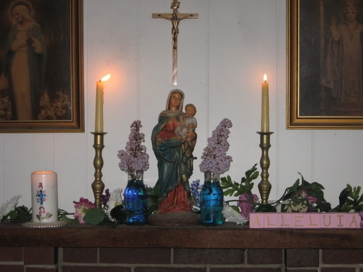 78+ Images About Catholic Home Altars And Icons On