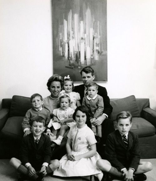 Robert Kennedy Family - Be kind to others and work for your country - by Robert Kennedy