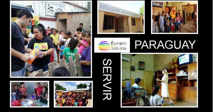 Serve: John Paul II Shelter  - Paraguay #YVC2015 #ServeYVC