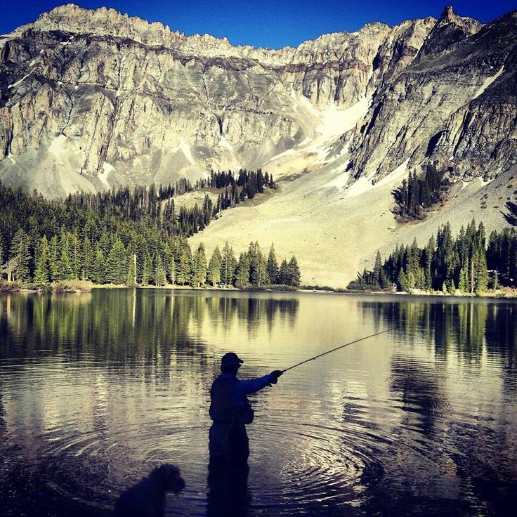 Alta lakes near telluride colorado pinterest for Telluride fly fishing