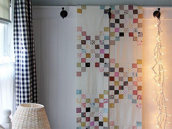 Quilt1: Scrap Quilts, Quilts Patterns, Clever Idea, Beds Quilts, Triple Irish Chains Quilts, Gorgeous Quilts, Quilts Idea, Quilts Design, Beauty Quilts