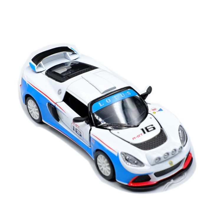 Lotus Exige R-GT Racing Kinsmart Scale 1:36 Model Alloy Car High Quality Pull Back and Door Openable Metal Toy Cars Kid's Gift. Yesterday's price: US $10.88 (8.98 EUR). Today's price: US $8.38 (6.91 EUR). Discount: 23%.
