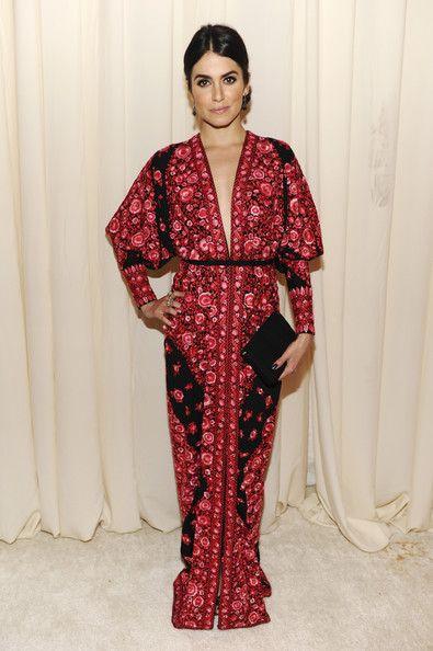 Nikki Reed Print Dress - Nikki Reed Looks - StyleBistro
