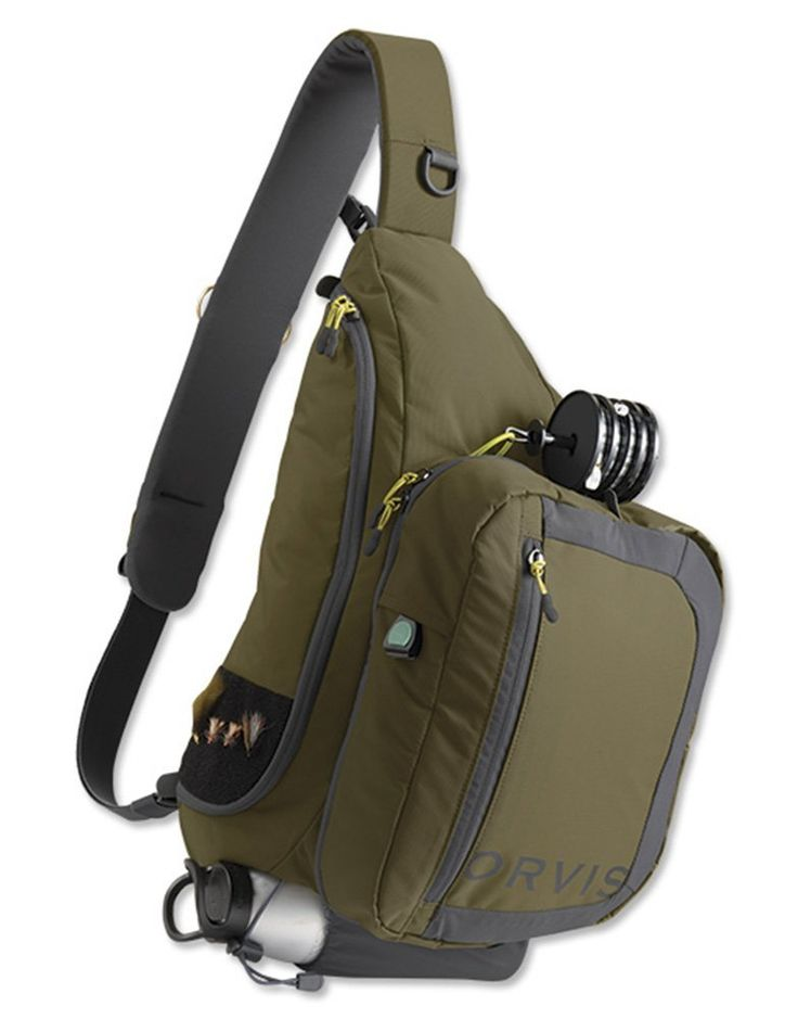 Orvis Safe Passage Guide Sling Fly Fishing Pack > Additional details at the pin item shown here, click it  : Backpacking backpack
