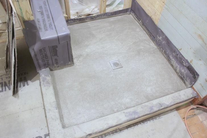 tile shower base diy the final steps of the diy shower pan u2026 finally