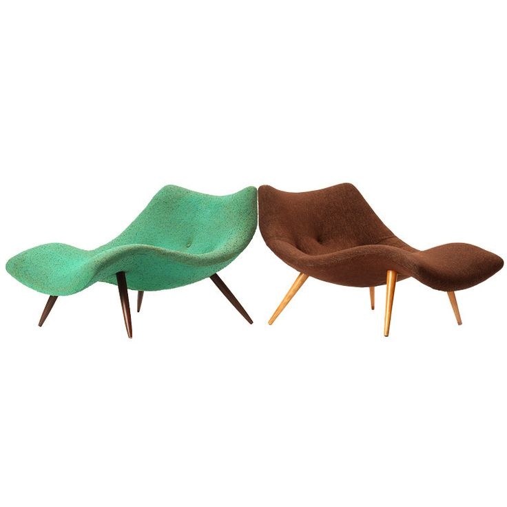 Lounge chairs by Adrian Pearsall furniture-inspiration