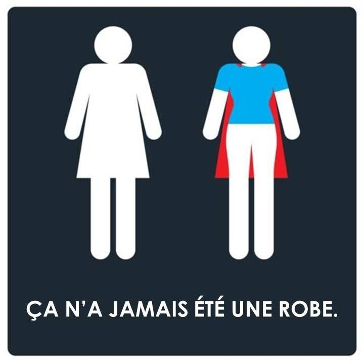Lundi matin, on est toutes des super héroïnes :)