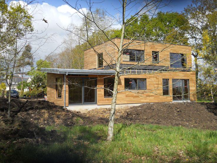 la maison de cedre prix la maison ronde pans m maison pinterest maisons en bois en bois et. Black Bedroom Furniture Sets. Home Design Ideas