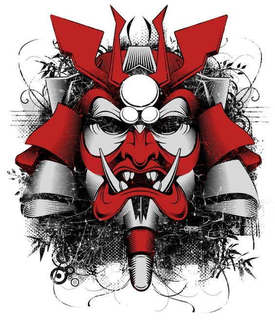 Samurai Mask of Doom by BurningEyeStudios.deviantart.com on @deviantART: