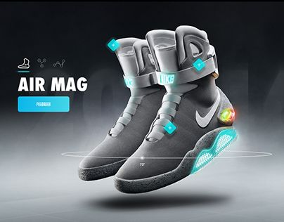 "Check out new work on my @Behance portfolio: ""Nike Air Mag - Microsite & App Concept"" http://be.net/gallery/42358415/Nike-Air-Mag-Microsite-App-Concept"