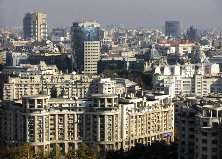 Turnul Bancorex si Intercontinental