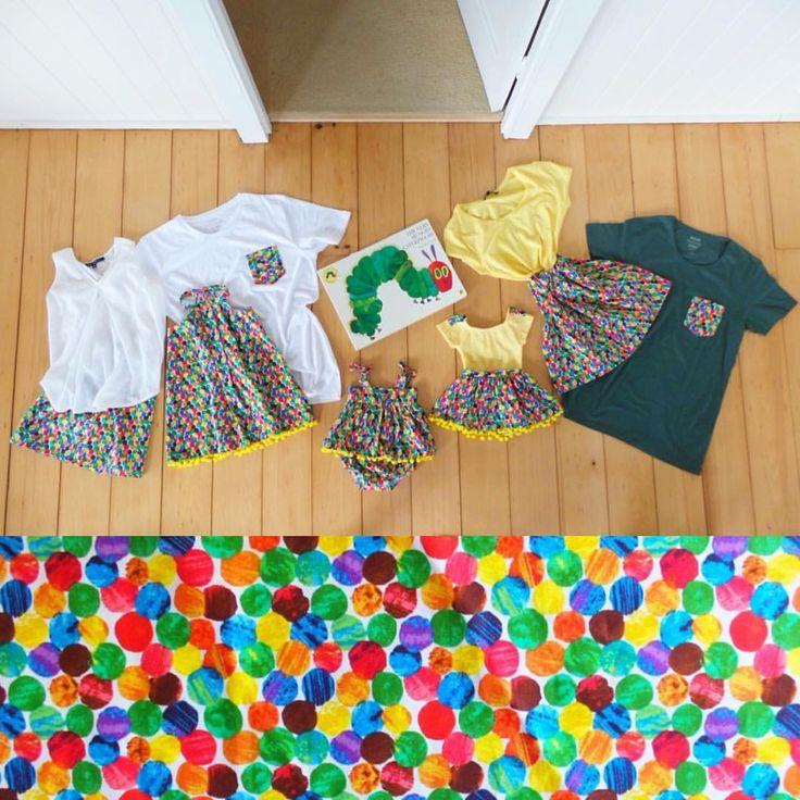 Hungry Caterpillar inspired matchy matchy www.etsy.com/au/shop/MummyGDub