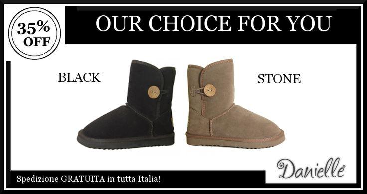 Vuoi un #look pratico e alla #moda!? Questi tronchetti in camoscio sono la scelta giusta! Comodi e #trendy sono le calzature perfette per affrontare il freddo dell'inverno.  OGGI RISPARMI il 35%!
