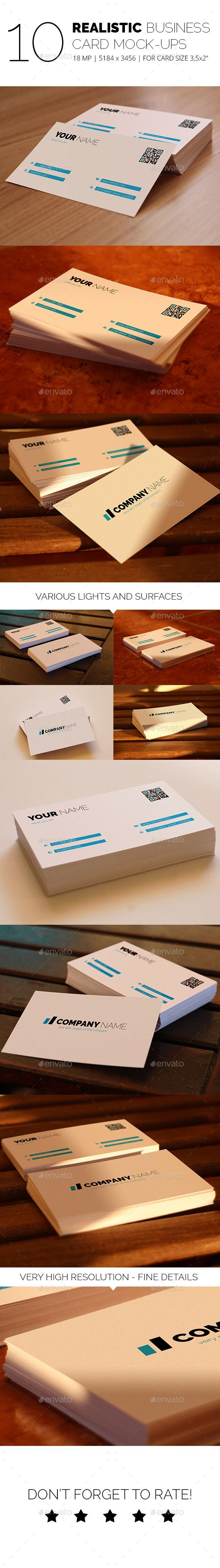 22 best graphic design images on pinterest business card design realistic business card mock up pack 2 reheart Images