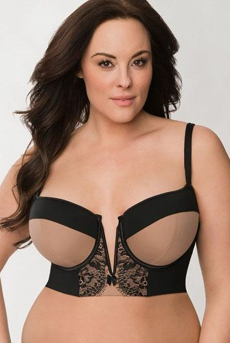 DD Buster: My Quest For The Perfect Size-F Bra  #refinery29  http://www.refinery29.com/full-figure-bras#slide-7  With a bra this beautiful, is a shirt really necessary?