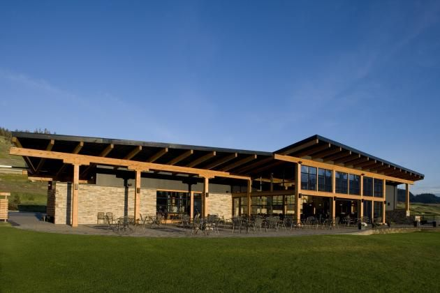 Tobiano Golf Clubhouse by a|k|a Architecture » CONTEMPORIST